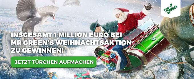 €1 Million im Mr Green