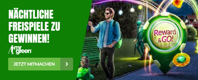 Unzählige Freispiele bei Mr Green