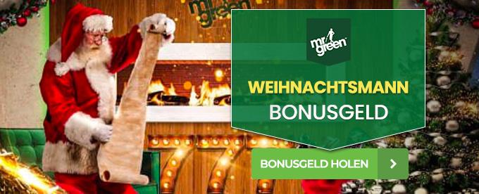 Weihnachtsmann Bonusgeld
