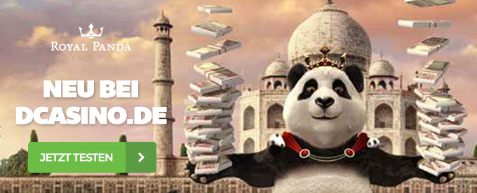 Royal Panda neu bei Casinoratgeber.de