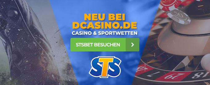 STSbet neu bei DCasino.de