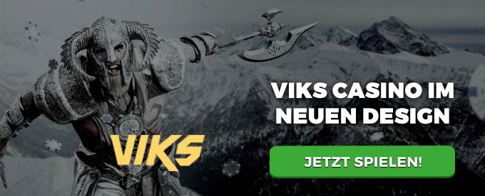 Das Viks Casino vergibt einen 1000 Euro Bonus