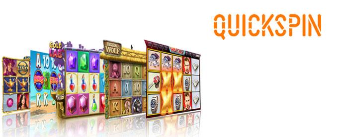 Casino Spiele von QuickSpin