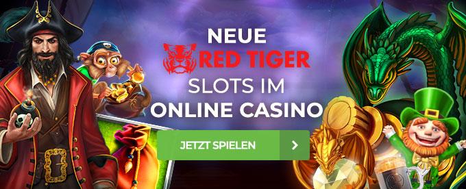 Neue Slots von Red Tiger
