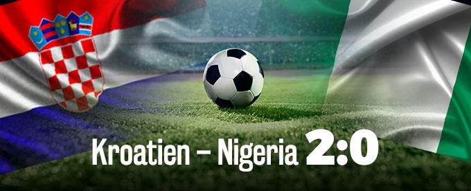 Kroatien – Nigeria 2:0