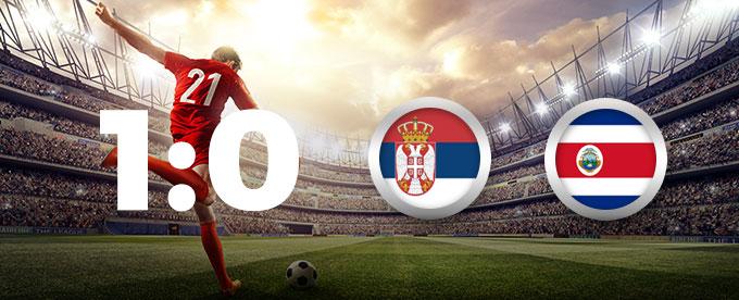 Costa Rica – Serbien 0:1